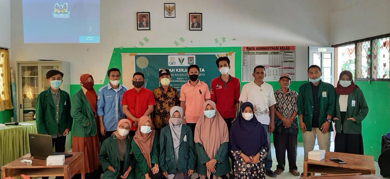 Kuliah Kerja Nyata di Bonto, Mahasiswa UIN Sunan Kalijaga Resmi Diterima Langsung Lurah Kolo